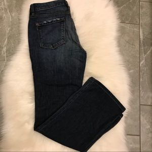 Ann Taylor Loft boot cut denim size 30/10 .